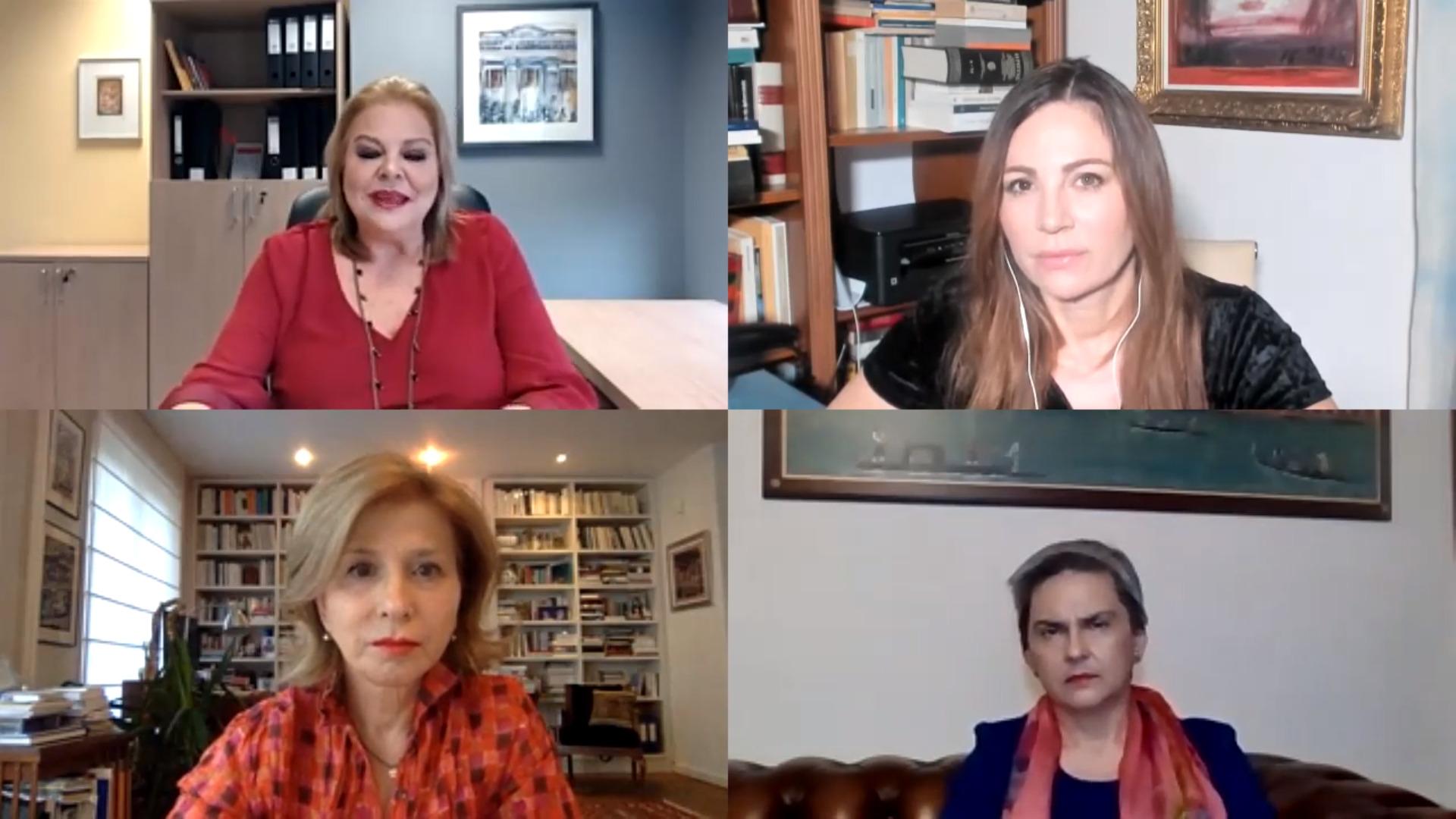 Συζήτηση με θέμα: «Ημέρα της Γυναίκας» Πανδημία - Me Too – «Το Μέλλον της Ευρώπης»