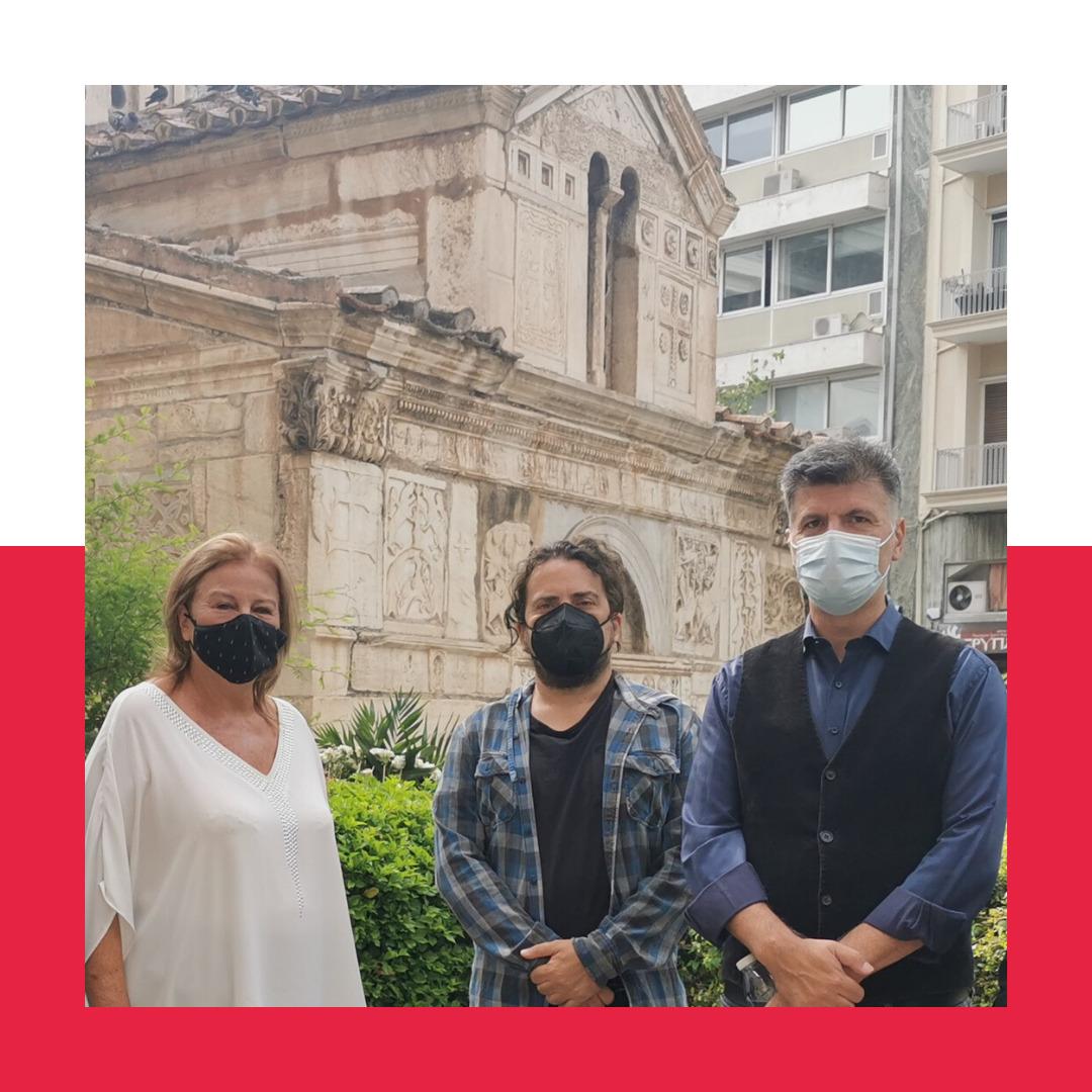 """Η Γενική Διευθύντρια της ΕΔΕΜ, κ. Λούκα Κατσέλη παρευρέθηκε σήμερα το πρωί στη Μητρόπολη, για να πει το """"τελευταίο αντίο"""" στον σπουδαίο Μίκη Θεοδωράκη."""
